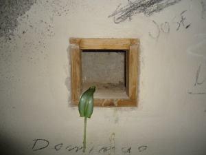 Velas en el bunker de Arinaga