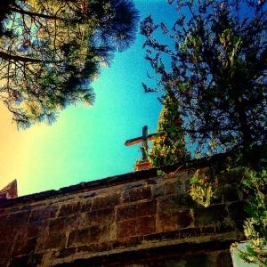 Entrada cementerio Tejeda