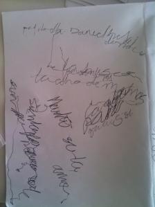 Escritura automática de un suicida