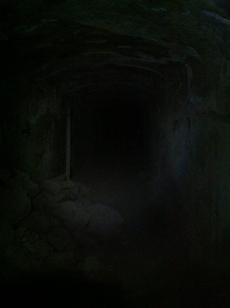 Interior búnker de Arinaga