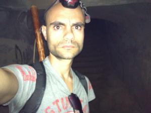 En el interior del búnker de Arinaga